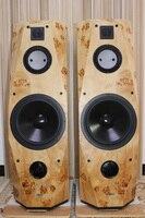 Diamond 12 13inches Hi End floor standing speaker Accuton BD25 6 258 tweeter + C173 096 midrange+12 212 Bass DIY