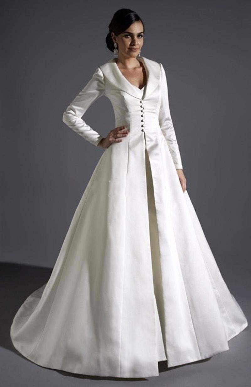 Ausgezeichnet Hochzeitskleid Und Mantel Galerie - Brautkleider Ideen ...