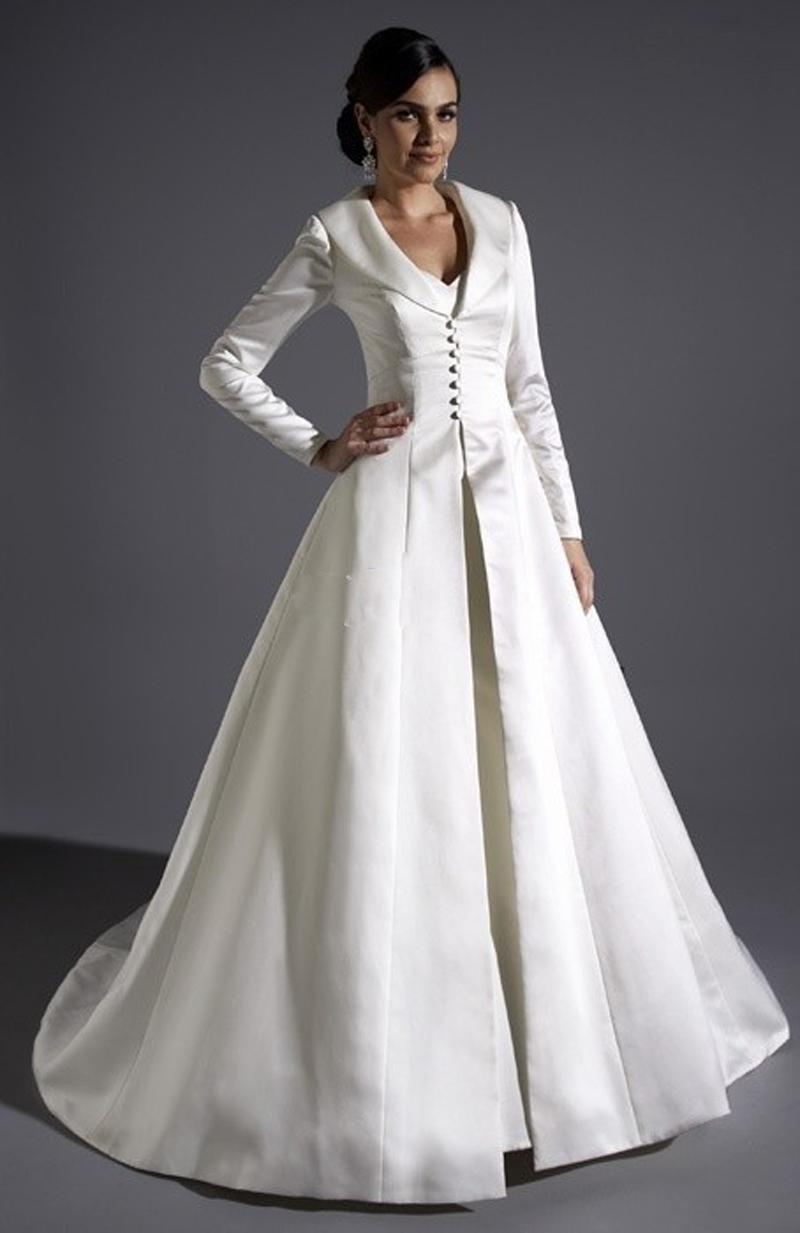 Victorian Wedding Dress Coat