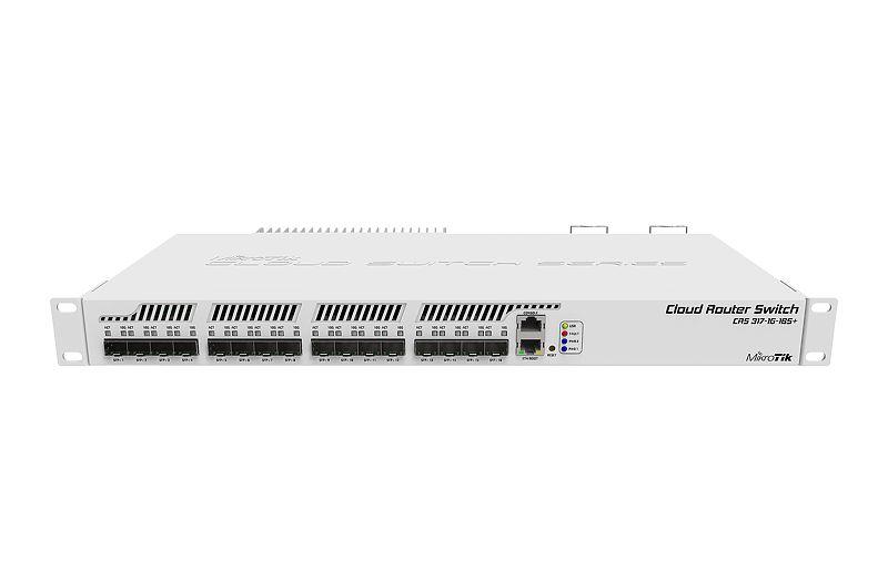 MikroTik Router Nuvem Interruptor CRS317-1G-16S + RM 16sfp