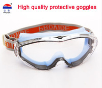 2015 New Postage Soft Genuine Goggles Eye Protection Safety Glasses Dust Proof And Splash Of Sand