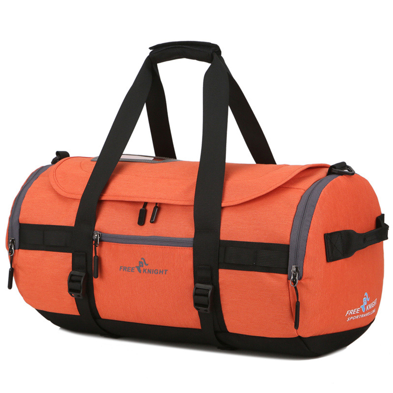 Outdoor Travel Bag Men Short Journey Shoulder Straps Bag Waterproof Gym Training Bags Women Yoga Duffle Fitness Crossbody Bags yoga fitness bag waterproof nylon training shoulder crossbody sport bag for women fitness travel duffel clothes gym bags xa55wa