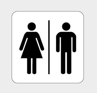 toiletwcbathroomlavatory signsymbolmark5x5 - Bathroom Symbol