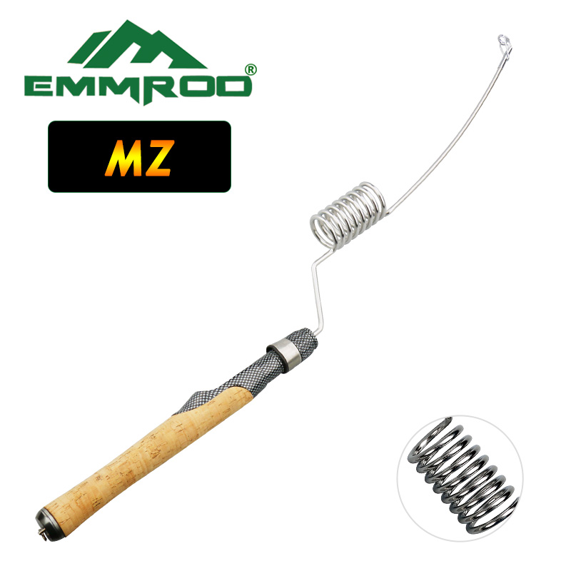 Emmrod Stainless Portable Fishing Pole Rod Spinning Fish Hand Fishing Tackle Sea Rod Ice Fishing rod