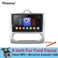 2 din 9 inch mirror link Android Car radio for Ford Focus 2004 2011 Bluetooth USB wheel control Multimedia MP5 Player Autoradio