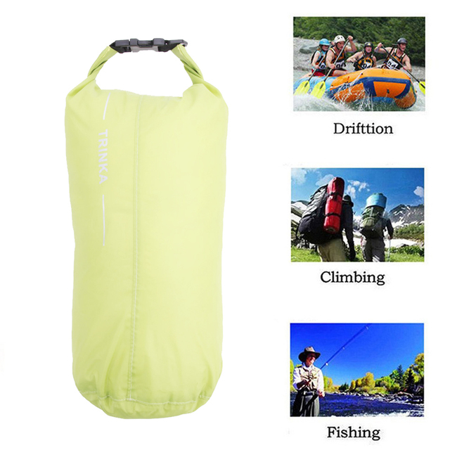 8L Outdoor Waterproof Canoe Swimming Camping Hiking Storage Backpack Dry Bag Pouch Outdoor Climbing BAG 2Colors
