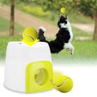 Funny Gag Interesting Toy Children Outdoor Ball Toy Pet Dog Launcher Tennis Ball Toy Fetch Thrower