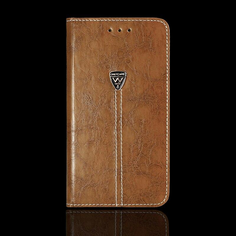 Vintage Portefeuille Cas pour Philips Xenium i908 5.0 pouces PU En Cuir Rétro Flip Couverture Magnétique De Mode Cas Béquille Sangle