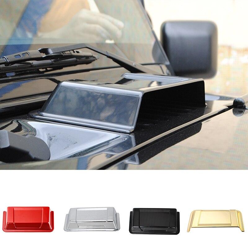 SHINEKA Vent-Cover Hood Exterior-Accessories Wrangler Jk Jeep Rain-Shield Car-Stying