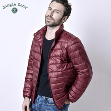 2018 Winter men 초경량 Jacket White Duck Down Jacket Men Down 블루종 아웃도어 겨울 Male Casual down jacketCoat(China)
