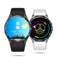 (Buque de EE. UU. REINO UNIDO) XGODY KW88 GPS Del Ritmo Cardíaco Reloj 3G Gimnasio Rastreador Smartwatch Teléfono Con Tarjeta SIM 4 GB ROM Elegante Androide reloj