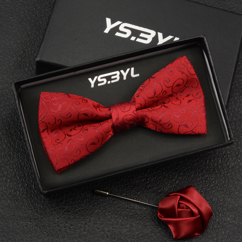 Brand 2019 New Stlye High Quality Fashion Butterfly Ties Bow Tie For Men Plaid Striped Party Men's Bowties Pack With Gift Box
