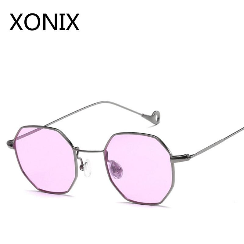 a19705f92 XONIN New 2017 Fashion Hexagon Sunglasses Women Men Brand Designer Sun  Glasses For Women Lady Sunglass Female Mirror UV400
