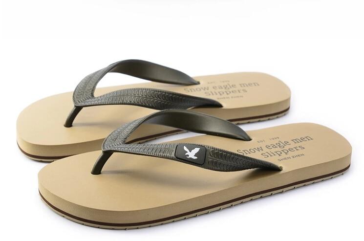 Flip Flops Eagle Portrait Womens Beach Slippers Brazil Sandals for Boys
