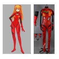 2016 Neon Genesis Аска Лэнгли сорью» (Evangelion EVA soryu Asuka langley боевой костюм косплей костюм, полный набор костюм Аска ленґлі Сорю для костюмированных пос