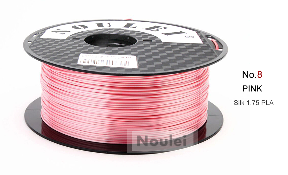 8 3D Printer Filament 1.75 SILK PLA PINK