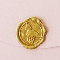 Horse Vintage Metal Sealing Wax Stamp With Custom Stamp Logo Designed Patterns Or Your Design For