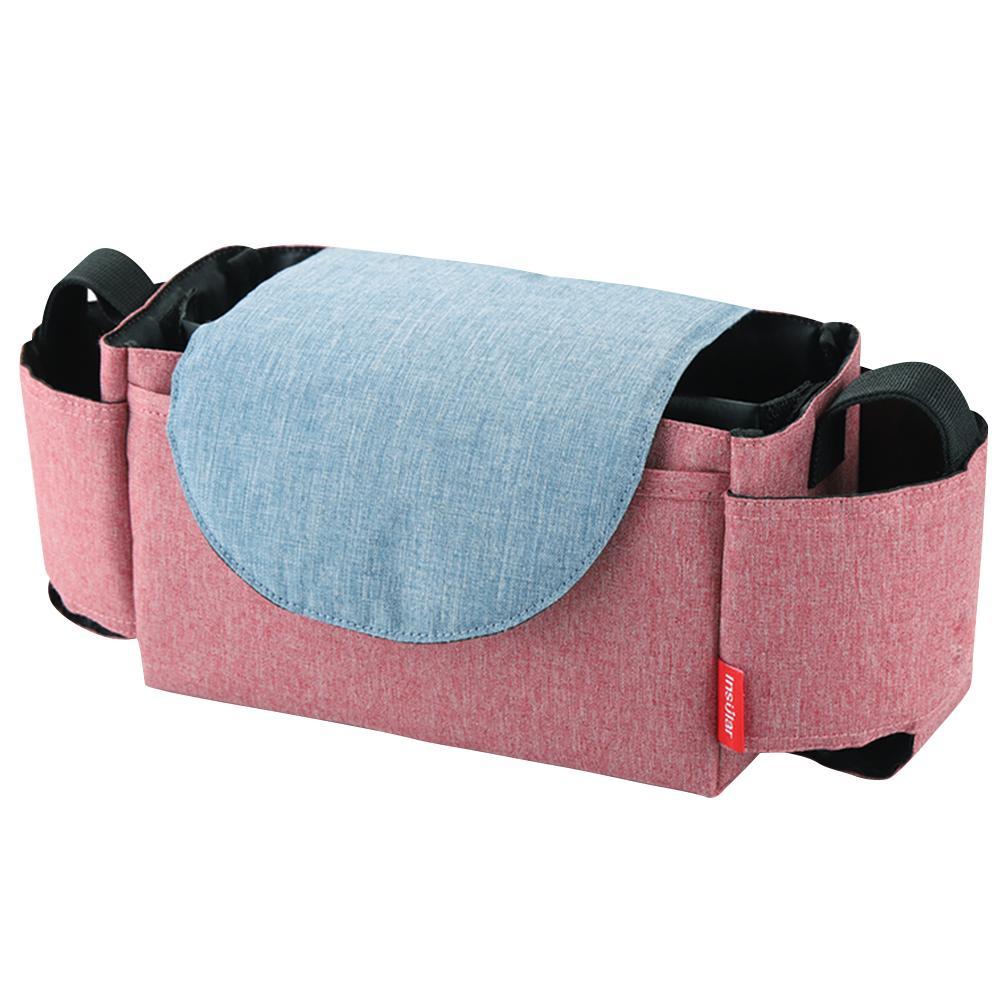 INSULAR детская коляска бутылка-органайзер подстаканник Пеленки сумки для беременных подгузник сумка Аксессуары для портативной детской коляски - Цвет: 2