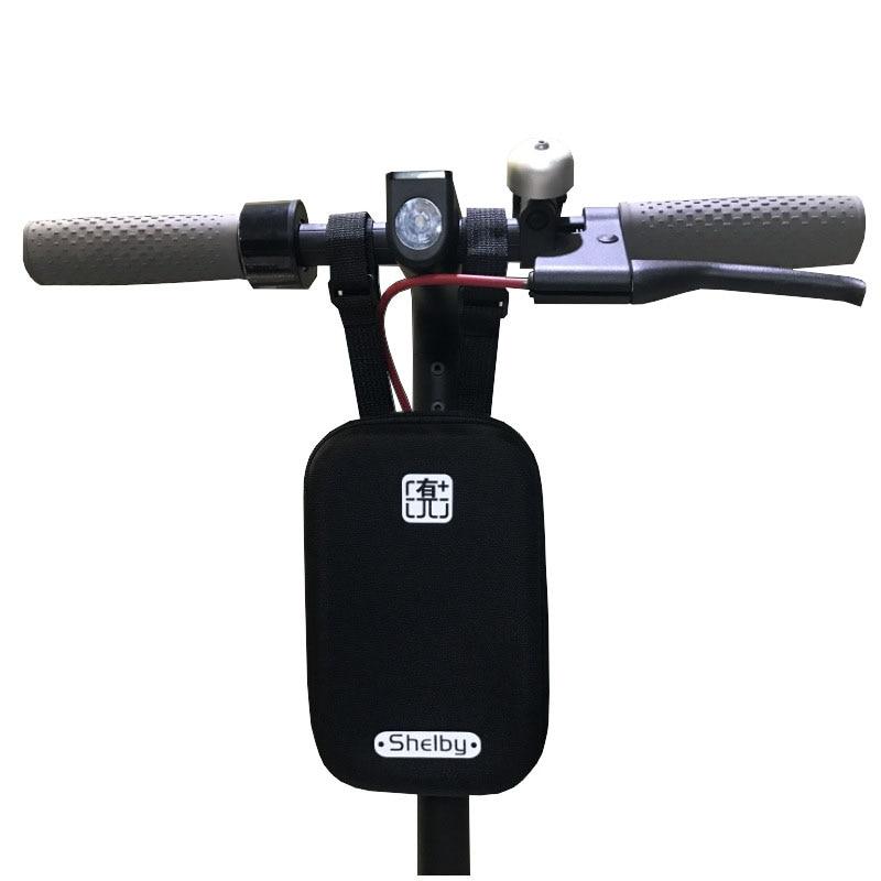 Prix pour Xiaomi M365 Scooter Tête Sac Avant Sac de Chargeur Électrique Planche À Roulettes Outil Sac Porte-Outil Pour Xiaomi Mijia M365 Électrique Scooter