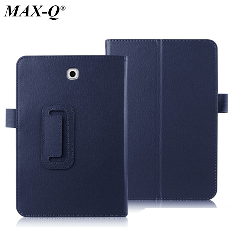 MAX-Q Business Style Folio Stand Flip pu leather Case For Samsung galaxy tab 3 7.0 T210 T211 T2100 T2110 P3200 Tablet Cover