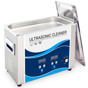 Image 3 - Ultrasonic Cleaner 4.5L Portable Bath 180W Power Adjustable Degas Heater Ultrasound Transducer Tableware Lab Denture Lens Tools
