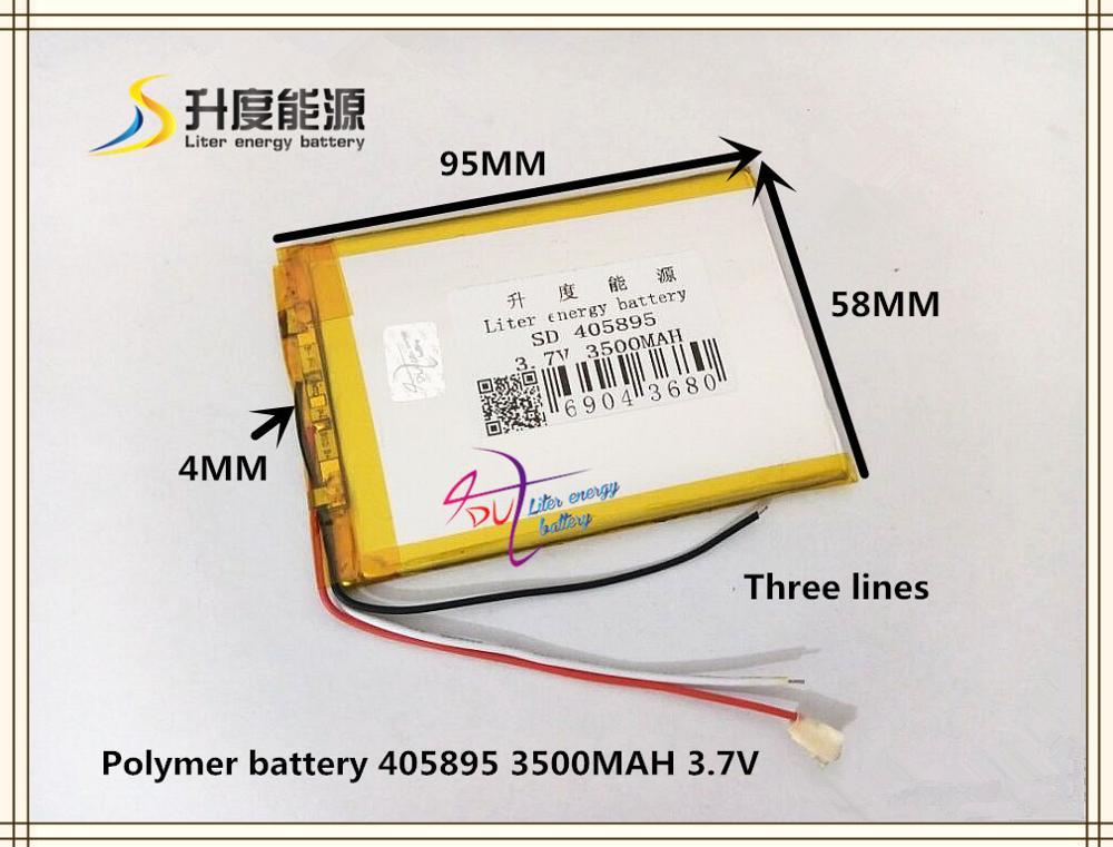 Computer & Büro 3,7 V 3500 Mah 405895 Polymer Lithium-ionen Batterie Für Power Bank Tablet Pc Handy Lautsprecher Mp4 Gps