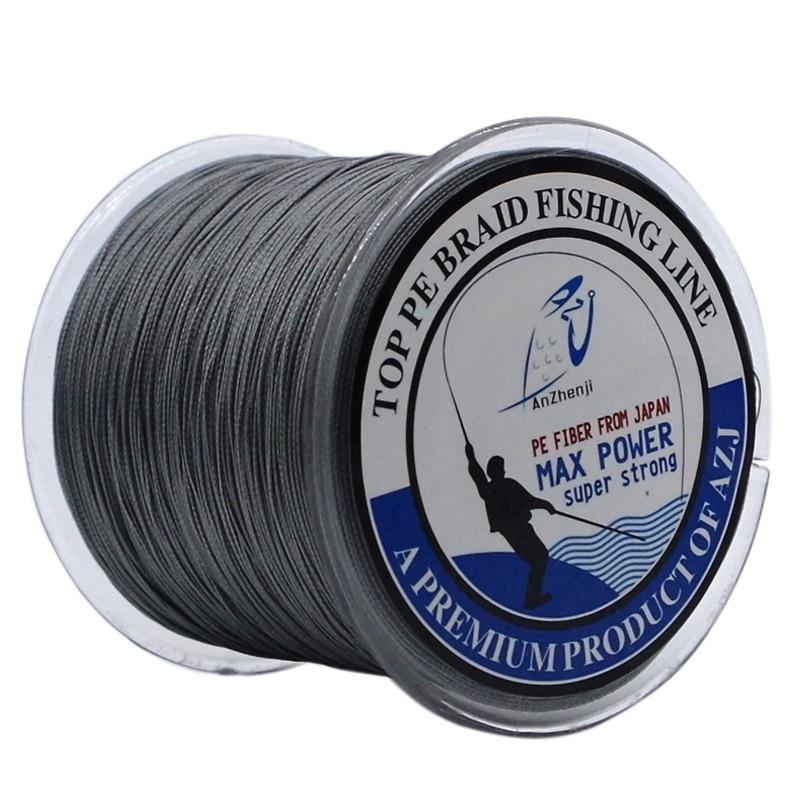 2016 azj brand 8strands 300m super strong 8plys japan for Fishing line brands