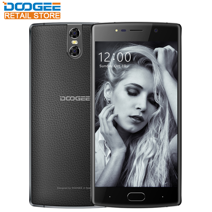 DOOGEE BL7000 4G LTE Smartphone 4GB RAM 64GB ROM Octa Core 5.5 FHD Android 7.0 Dual 13MP Camera MTK6750T 7060mAh Quick Charge