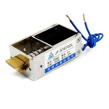 DC 12 V 24 V serratura elettrica lineare solenoide di blocco serratura della porta di Sicurezza scatola di JF-1670DL