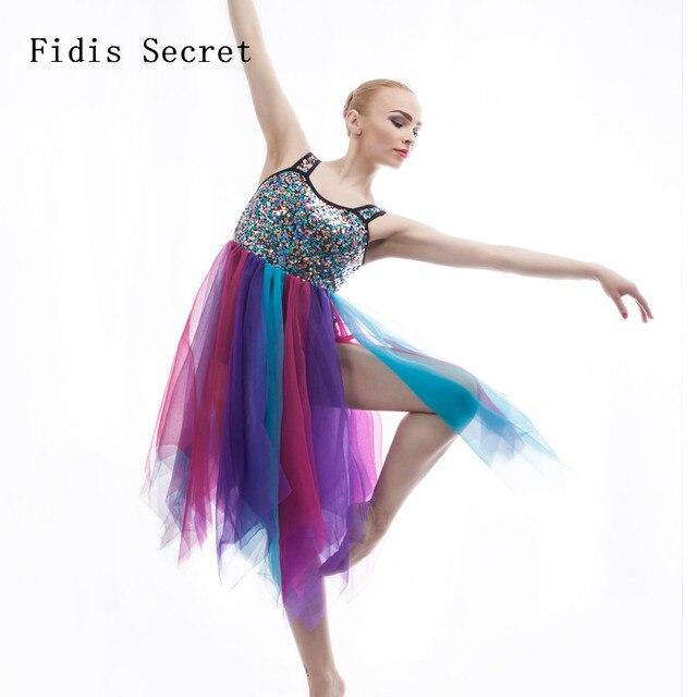 c868c6a1a107 New Women Child Leotard Dance Dress