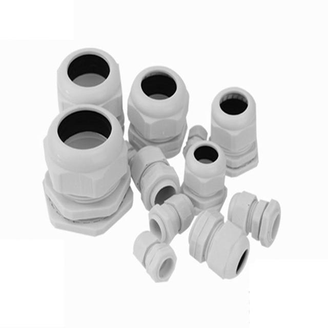 5 sztuk M typ Nylon PA66 wąż kablowy dławik IP68 M40 wysokiej jakości wodoodporny 22-32mm z wodoodporną uszczelką darmowa wysyłka