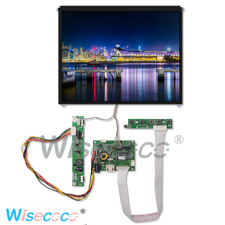 9.7-inch HD resolution 1024 * 768 LCD with control panel HDMI Dcin for DIY multiple devices9.7-inch HD resolution 1024 * 768 LCD with control panel HDMI Dcin for DIY multiple devices