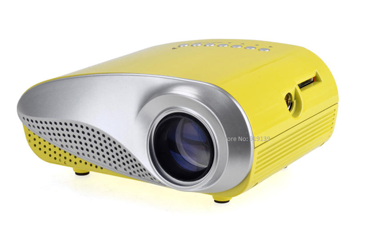 mini projector yellow pic 1