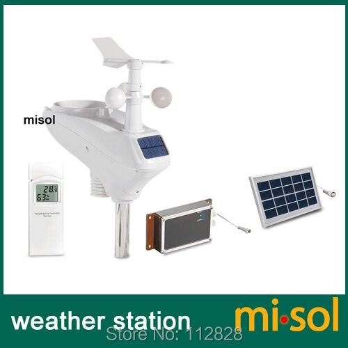 Estação meteorológica profissional wcdma/gsm, upload de dados para wunderground, mensagem sms