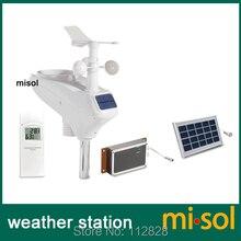 Estação meteorológica profissional wcdma/gsm, upload de dados para subterrâneo, mensagem sms