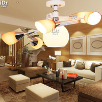 Modern Glass Shelf Study Lamp Lights Restaurant Lights Lighting Minimalist Fashion Ceiling Lights Wwy 0147