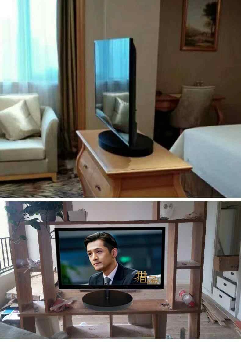 support de meuble rotatif a 2019 degres base universelle pour tv cloison de television 26 70 pouces 360