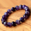 The Qixi Festival Valentine dream crystal bracelet pure natural amethyst women love help improve sleep on hand