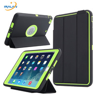 2017 New Luxury Smart For Apple iPad Mini 1 2 3 Cover kids Safe Armor Shockproof Heavy Duty Silicone Hard Protective Case 3 in 1