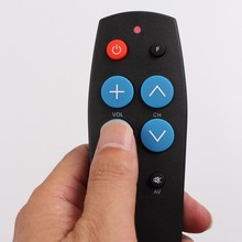 10pcs Remote control with Learn function for TV,STB,DVB,TV box, 7Keys big buttons easy use(China)