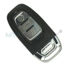 Smart Remote Key чехол включают держатель батареи и ключ лезвие 3 Кнопка ключ для автомобиля audi A6 Q5 A4 a3 A1 ключ оболочки remtekey