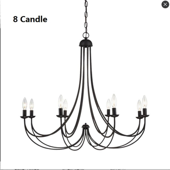 Hanging Candle Chandelier | Retro 5 Candle Chandelier Lighting For Dining Room Bedroom  American Village Light Hanging Fixtures Lustre Wedding Decoration