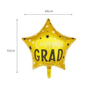 Image 2 - 5pcs Graduation Balloons Graduation Gift Cartoon Globos Back To School Decorations Congratulation Graduation 2019 Doctor Balloon