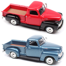 Yat Ming Hot 1:43 Scale 1950 GMC PICK UP truck duty Van metal diecast car model thumbnails auto Collectible toy for Children boy