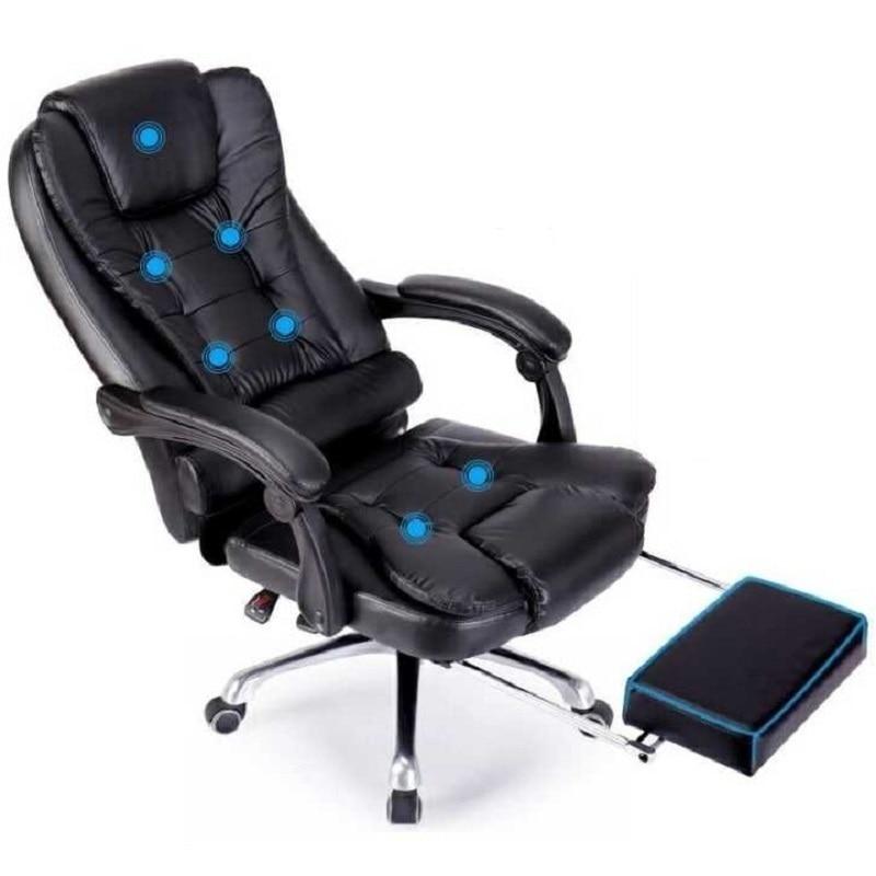 Bilgisayar Sandalyesi Gamer Sedie Sandalyeler Fotel Biurowy Fauteuil En Cuir Poltrona Silla Gaming Cadeira De Massage Chaise de Bureau