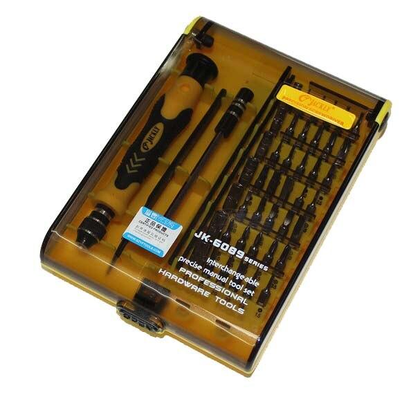 JACKLY JK6089A 45 en 1 destornillador magnético set herramientas juego de destornilladores Torx 100% JACKLY Original JACKMY