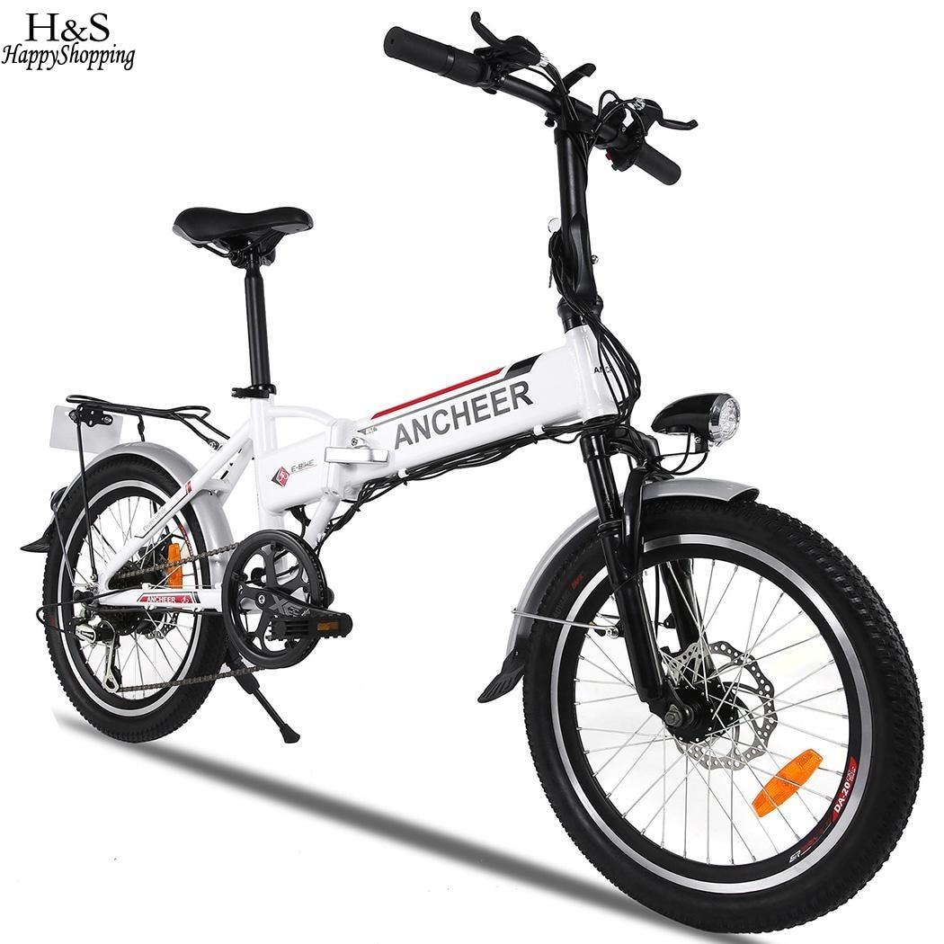 20 inch Wheel Aluminum Alloy Frame Folding Mountain Bike Cycling ...