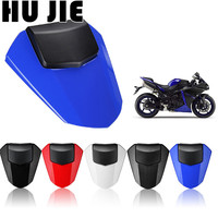 Motorcycle Rear Pillion Seat Cowl Fairing Cover For Yamaha YZF R6 YZF R6 2008 2015 09 10 11 12 13 14 ABS Plastic Carbon Black
