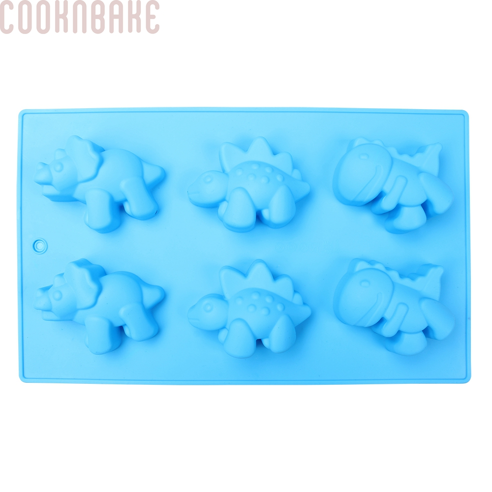 Cartoon Dinosaur Shape DIY Fondant Mold Cake Mold Jelly Pudding Handmade Soap