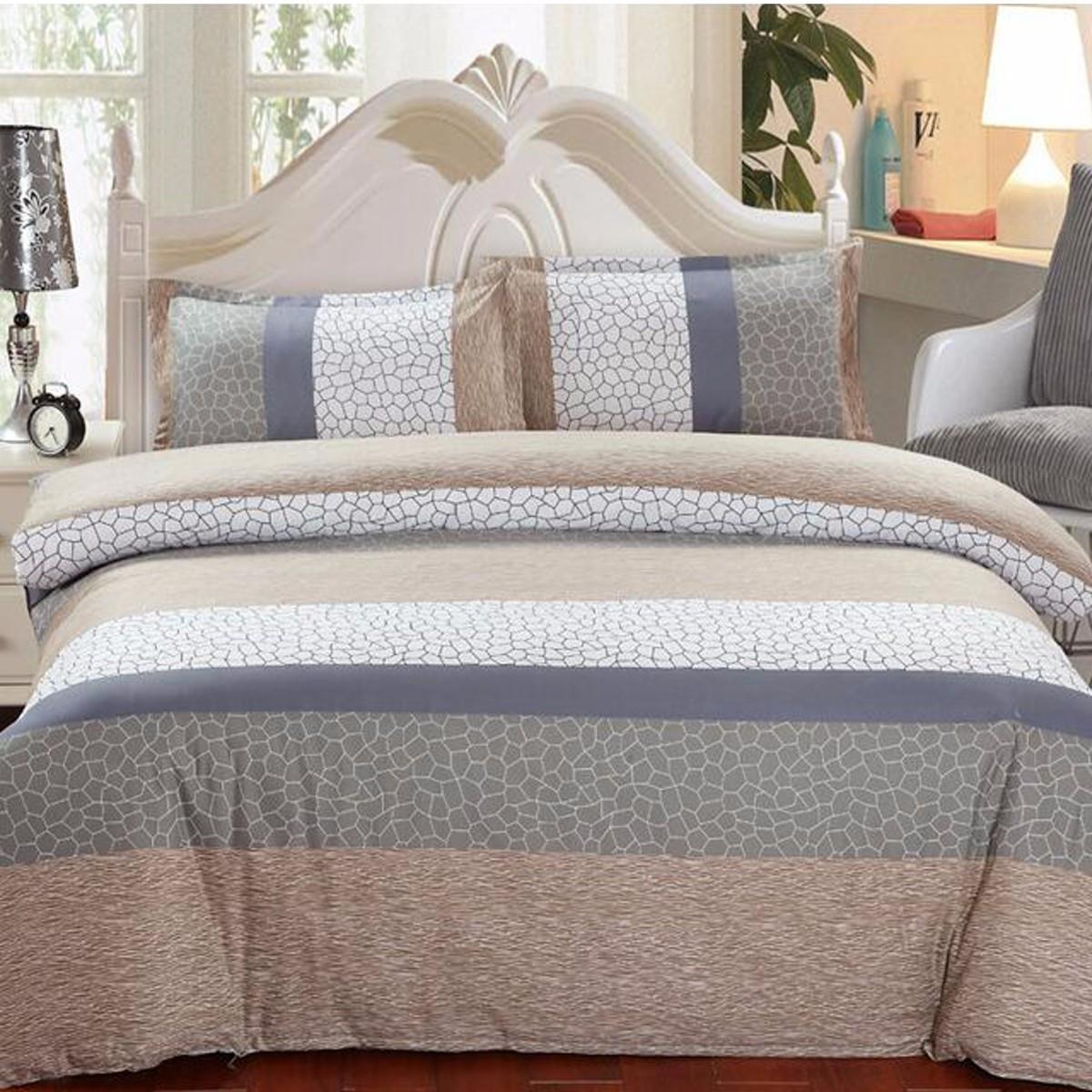 Duvet Cover Bedding Sets 4pcs Set Family Designer Pillow